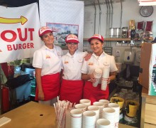 Event staff for In & Out Burgers pop up Restaurant in Dublin