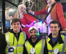 Promo Staff for Dublin Town Christmas Campaign 2015